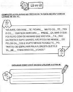 AtividadesLendaseFabulas+(68) A FESTA NO CÉU para crianças