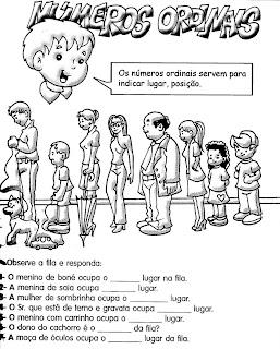 img367 NÚMEROS ORDINAIS para crianças
