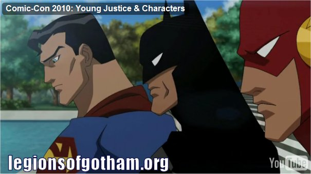 First Look at Batman in Young Justice Cartoon!