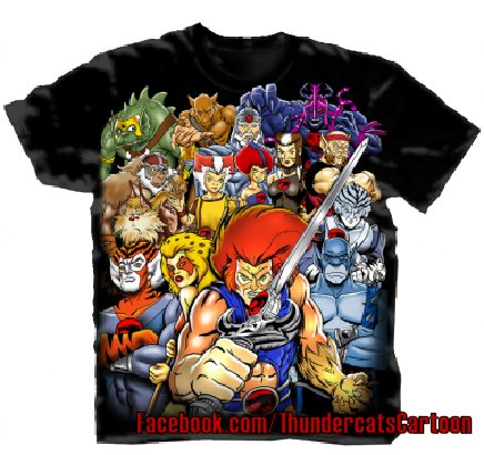 Thunder  Cartoon on Thundercats Cartoon 2011  New Thundercats Shirts Debut