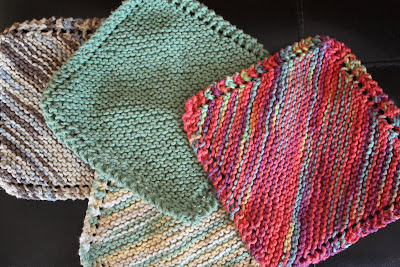 My Simple Pleasures Knit Dish Cloths