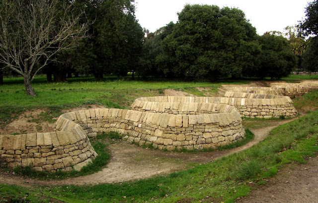 dutchbaby stone river by andy goldsworthy