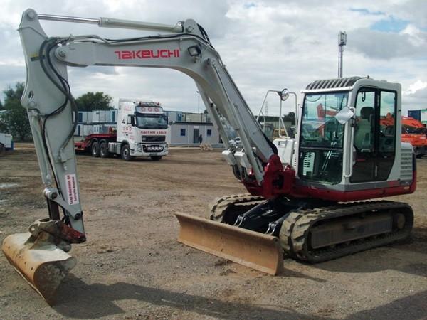 mini excavator senile takeuchi tb175 tip utilaj mini excavator senile