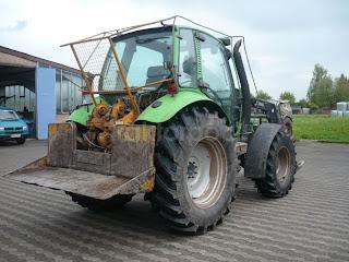Tractor%2BForestier Deutz Fahr Agrotron 485 4 725661 Tractor Forestier Deutz Fahr Agrotron 4.85 S tractoare forestiere tafuri second hand de vanzare 1997 27.000 Euro