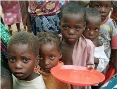 Resultado de imagem para crianças famintas