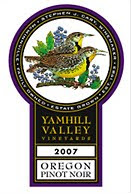 Yamhill Valley Vineyards Oregon Pinot Noir 2007