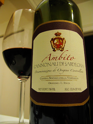 Ambito 2007 Cannonau di Sardegna