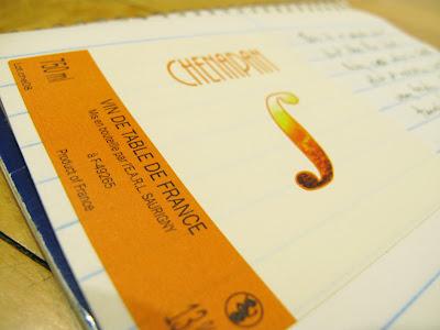 2008 Chenapan etiquette, Domaine Saurigny