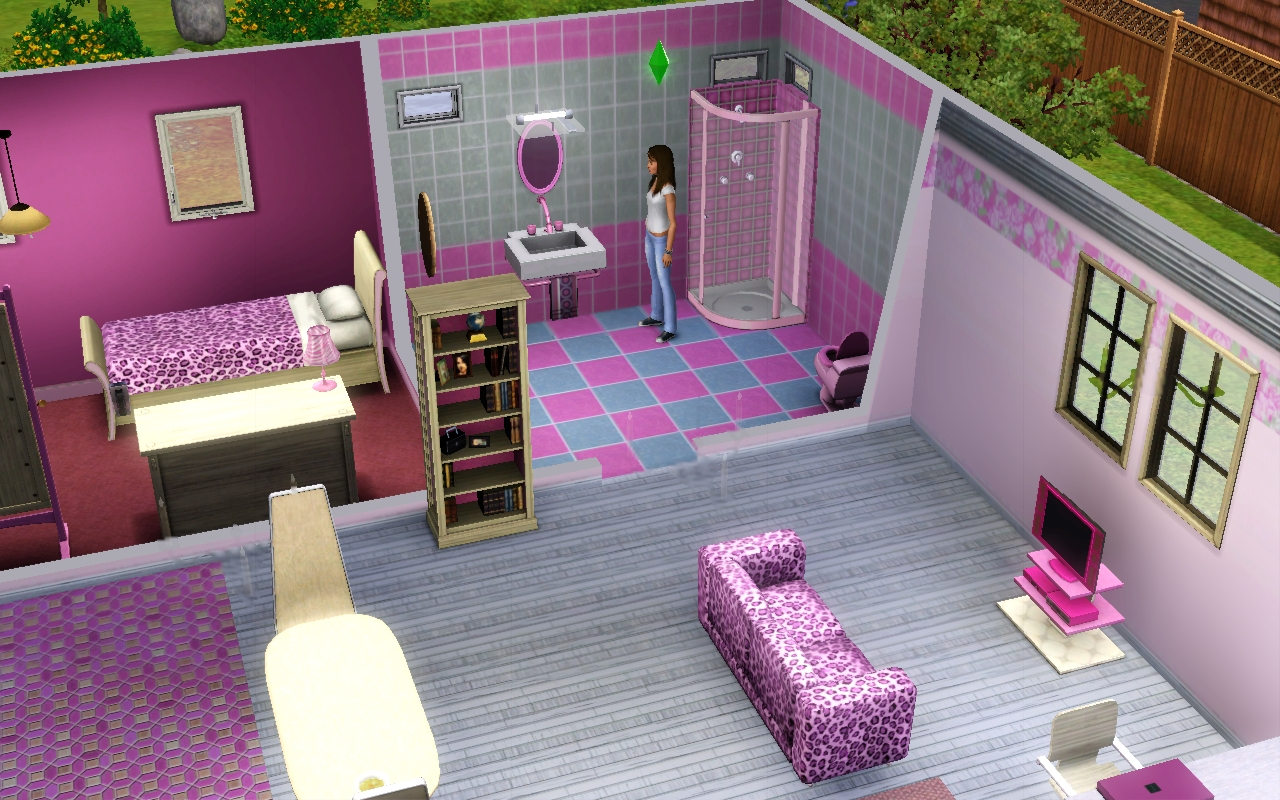Barbie and ken in bathroom