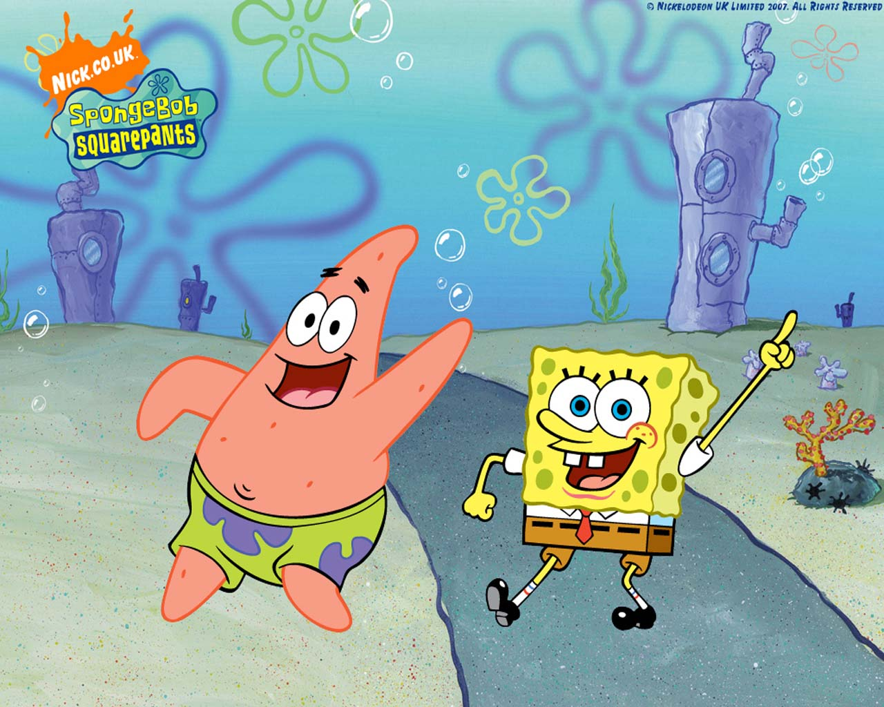 Spongebob and Patrick. This entry was posted on
