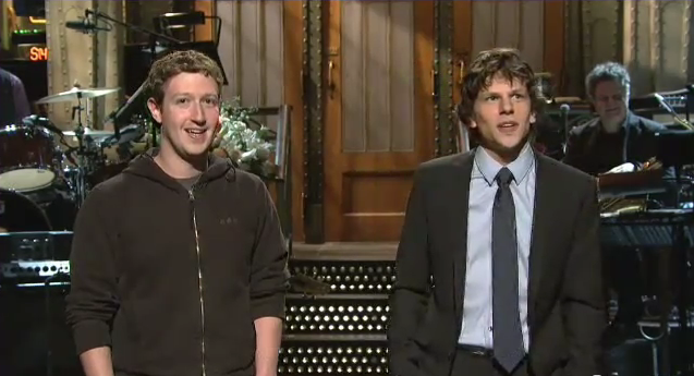 Mark Zuckerberg Reaction To Social Network. Mark Zuckerberg Meets The