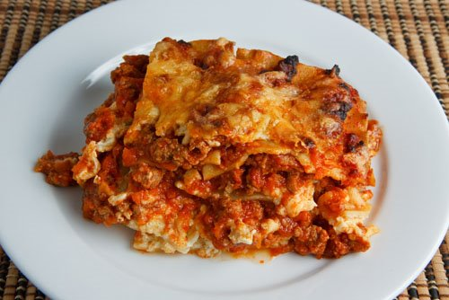 this is my go to lasagna this is very different than the lasagna i ...