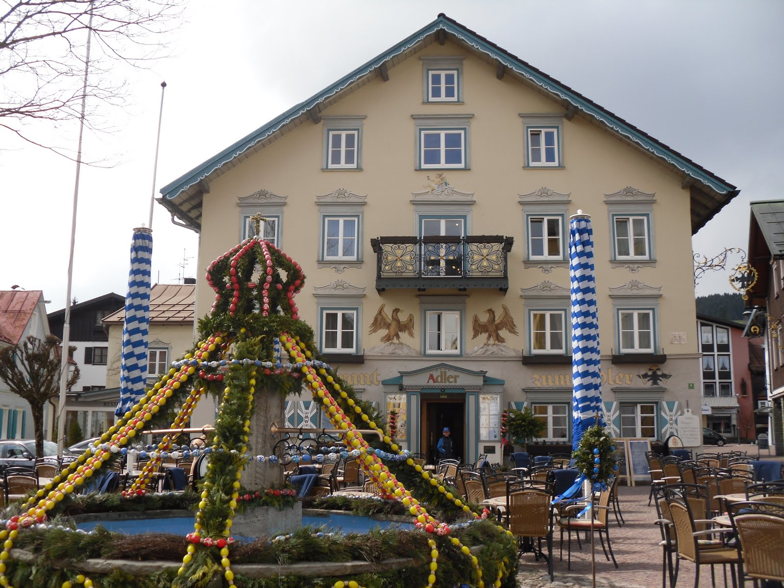 Culinary adventures in europe hotel restaurant adler for Oberstaufen hotel