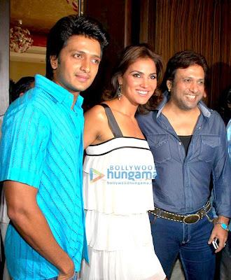Ritesh Deshmukh, Lara Dutta, Govinda