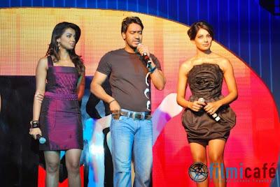 Bipasha Bashu, Ajay Devgan, Mugdha Godse