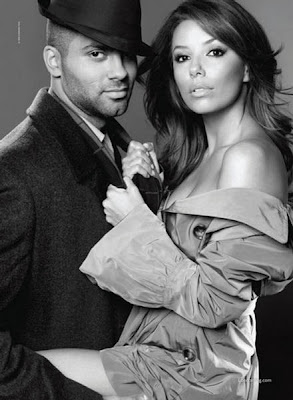 Eva Longoria & Tony Parker photo