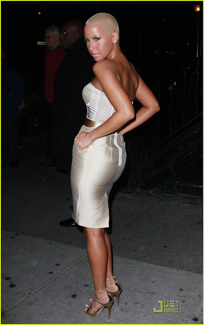 Amber Rose is Charming In Chelsea Photos
