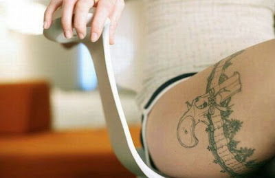 you can look modern by this tattoos