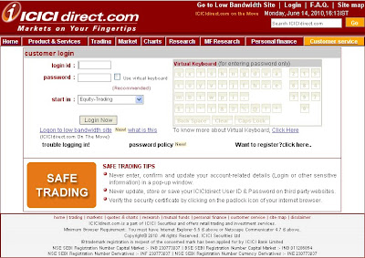 Hot on internet: ICICI Direct Login | Online Trading At ...