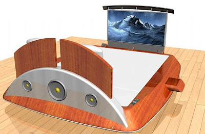 this is Remote Control Bed from Mobelform