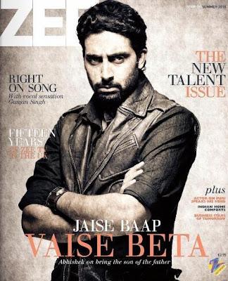 Abhishek Bachhan On The Cover Of Zee