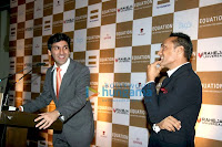 Rahul Bose at Equation Sports Memorabilia Auction