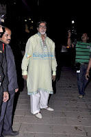 Bollywood Actress And Actors Celebrations Big B's Birthday