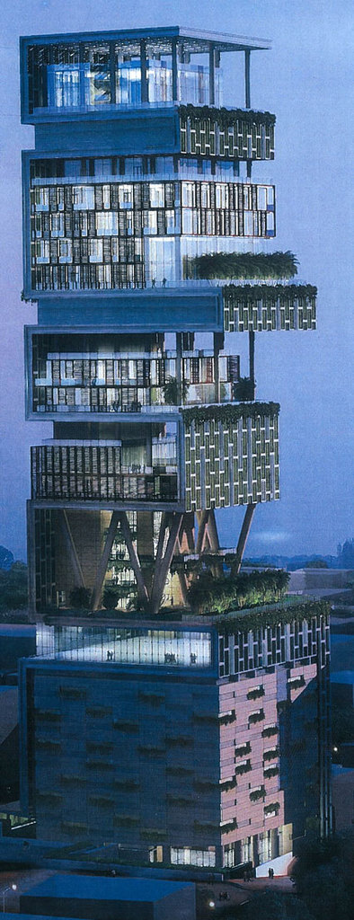 Antilla- New House Of Mukesh Ambani