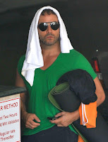 Jeremy Piven Leaving A Yoga Class In Santa Monica