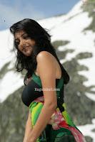 Kajal Agarwal Looking Sexy in Green & Hot Dress