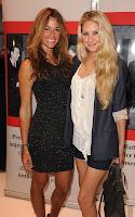 Anna Kournikova and Kelly Bensimon out for