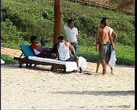 Dhoni, Sakshi Goa Beach Photos