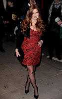 Isla Fisher at The London premiere of