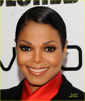 Janet Jackson For Colored Girls Movie Premiere