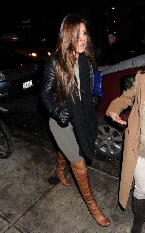 Rachel Uchitel out on a date night in Chelsea