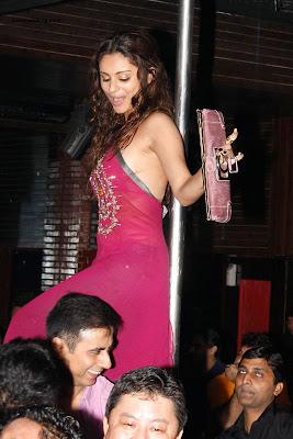 Rahul Mahajan's wife Dimpy Mahajan's Leaked Private Party Photos