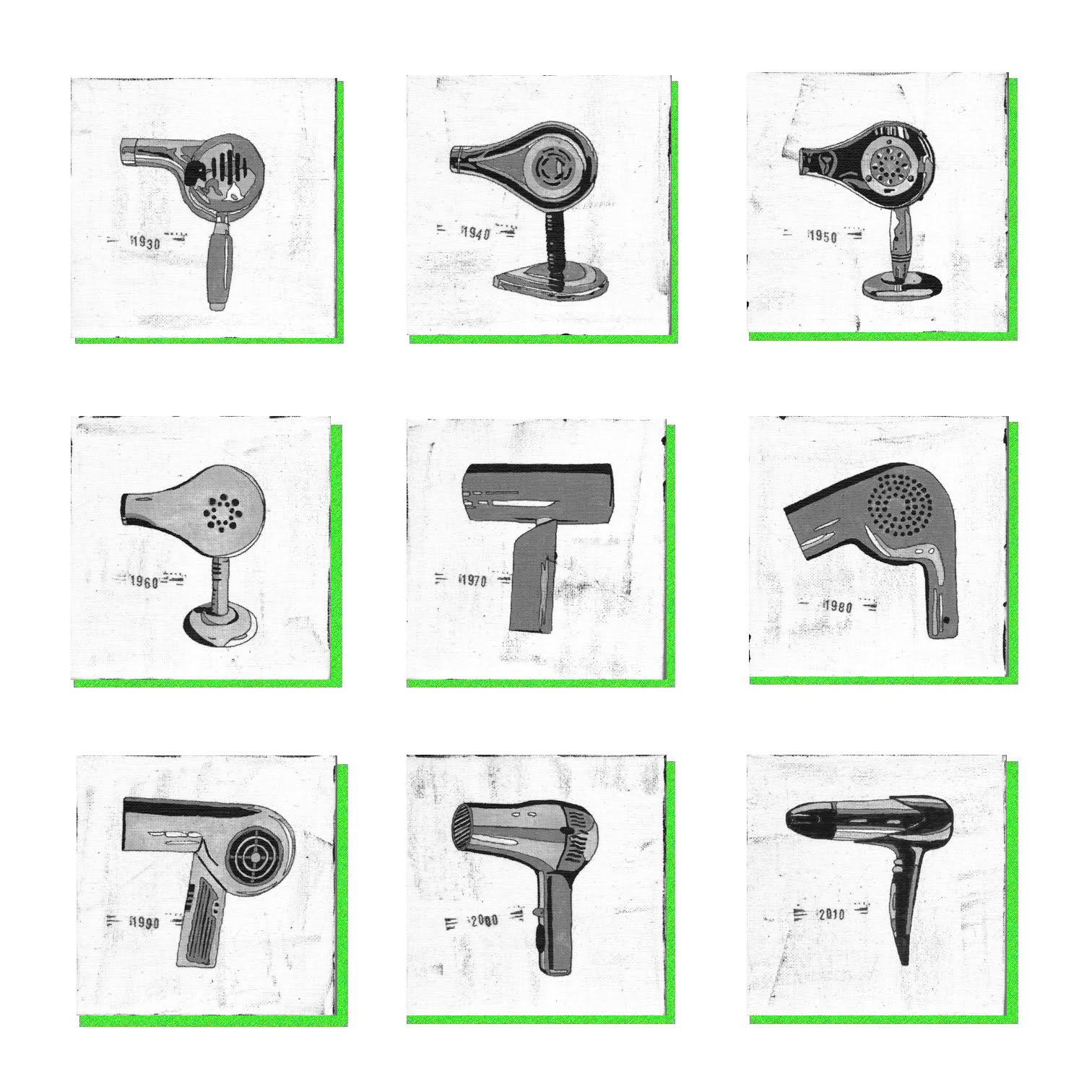 The Evolution of Hair Dryers