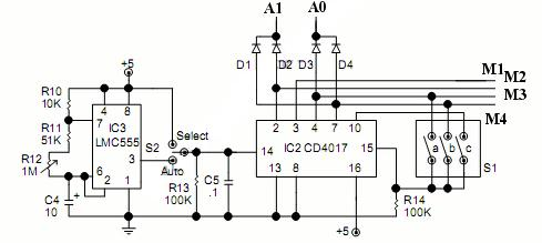 Video switch circuit schematic diagram zona elektronika image from only one camera video switcher circuit is needed to display more than one display in one monitor take a look at below circuit schematic ccuart Image collections
