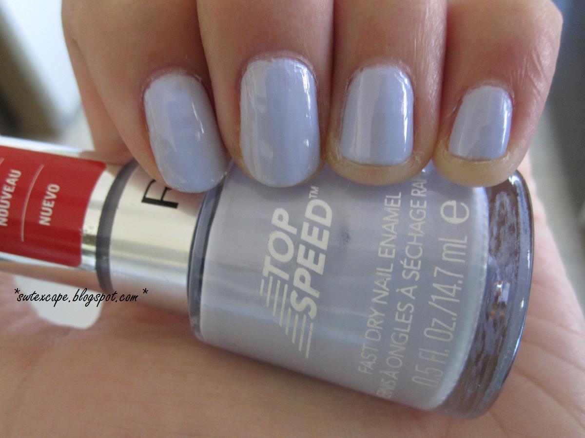 swtexcape*: Nail Polish Love - Revlon Top Speed Fast Dry Nail Enamel