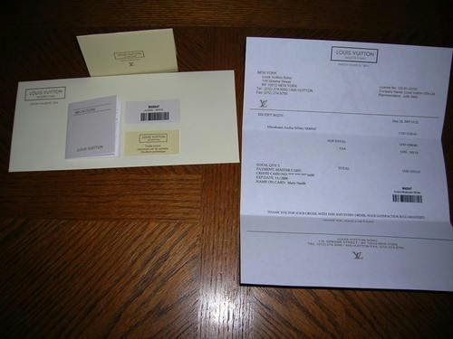 lv receipts templates  lv eluxury receipt templates  15 00