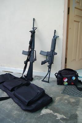 AirSoft-Gun Indonesia M16, FN FNC, SS