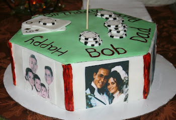 60th Birthday - photo cake