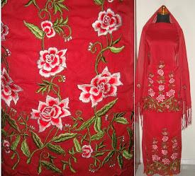 Baju Kurung Sulam