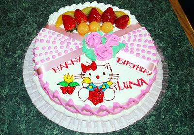 It's Lunakat's birthday too! Lunacake