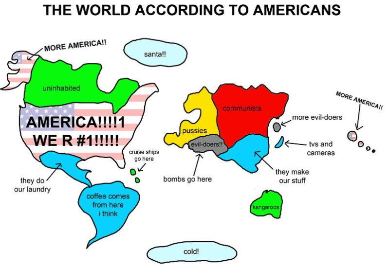 Ako Američania vidia svet