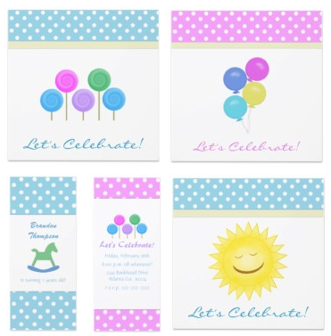 Cute Polka Dot Party Collection