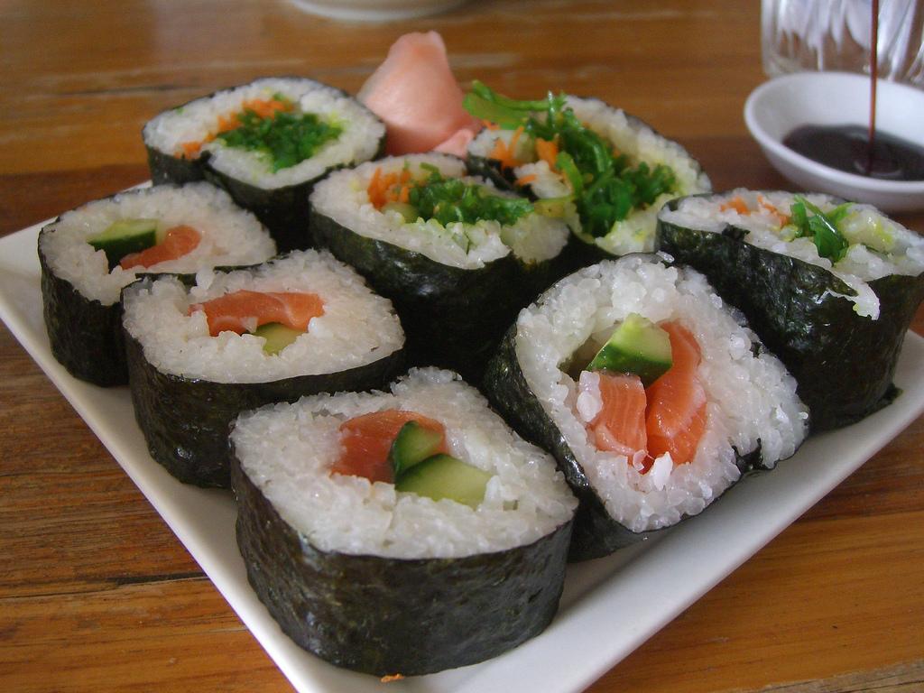 Sushi Recipe January 2011