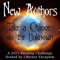 New Authors Reading Challenge 2011