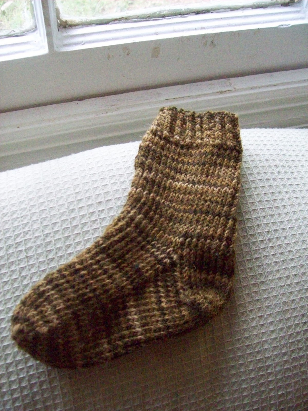 Tonya\'s Knitting Knotes: Free Basic Toddler Sock Knitting Pattern