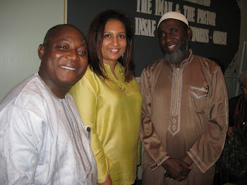 With Nigerian Peacemakers, Imam Ashafa and Pastor James